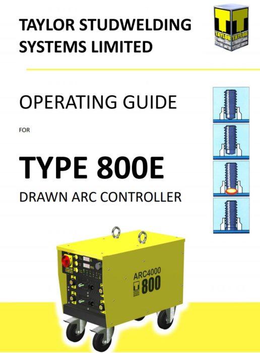 800E operating guide image