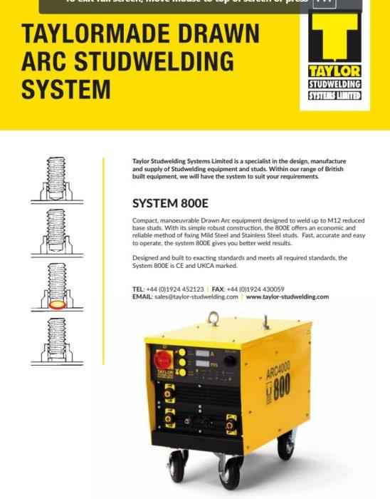 800E technical specification