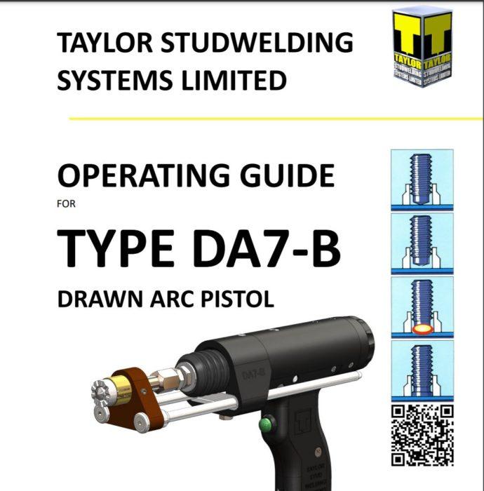 drawn arc 7-B hand pistol