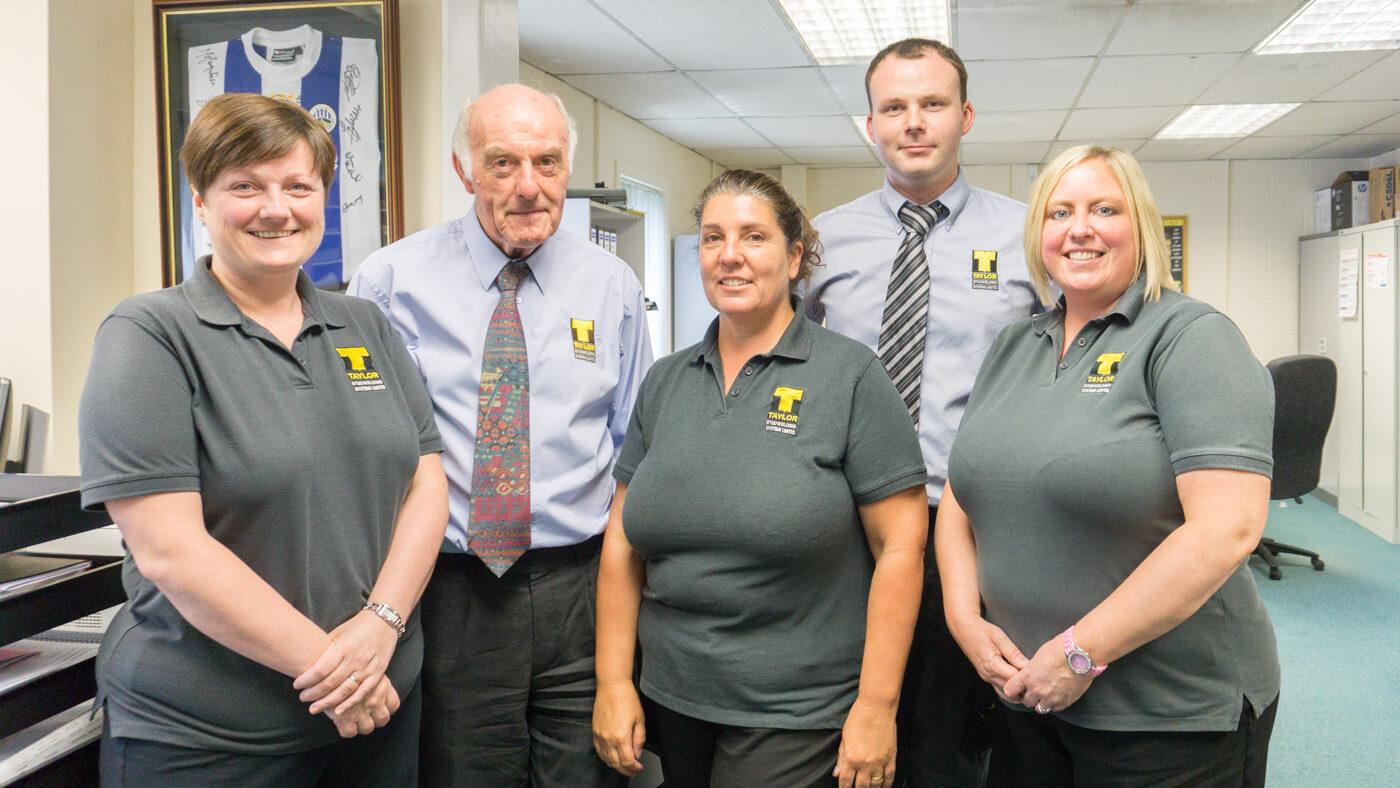 Taylor Studwelding Staff Team