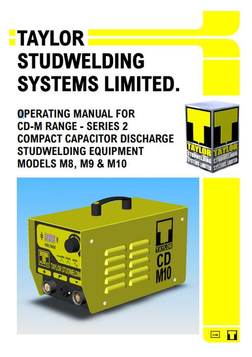 CDM CD Stud Welding Machine Manual
